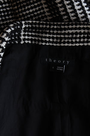 Theory 'Eldora' Plaid Wool-Blend Vest