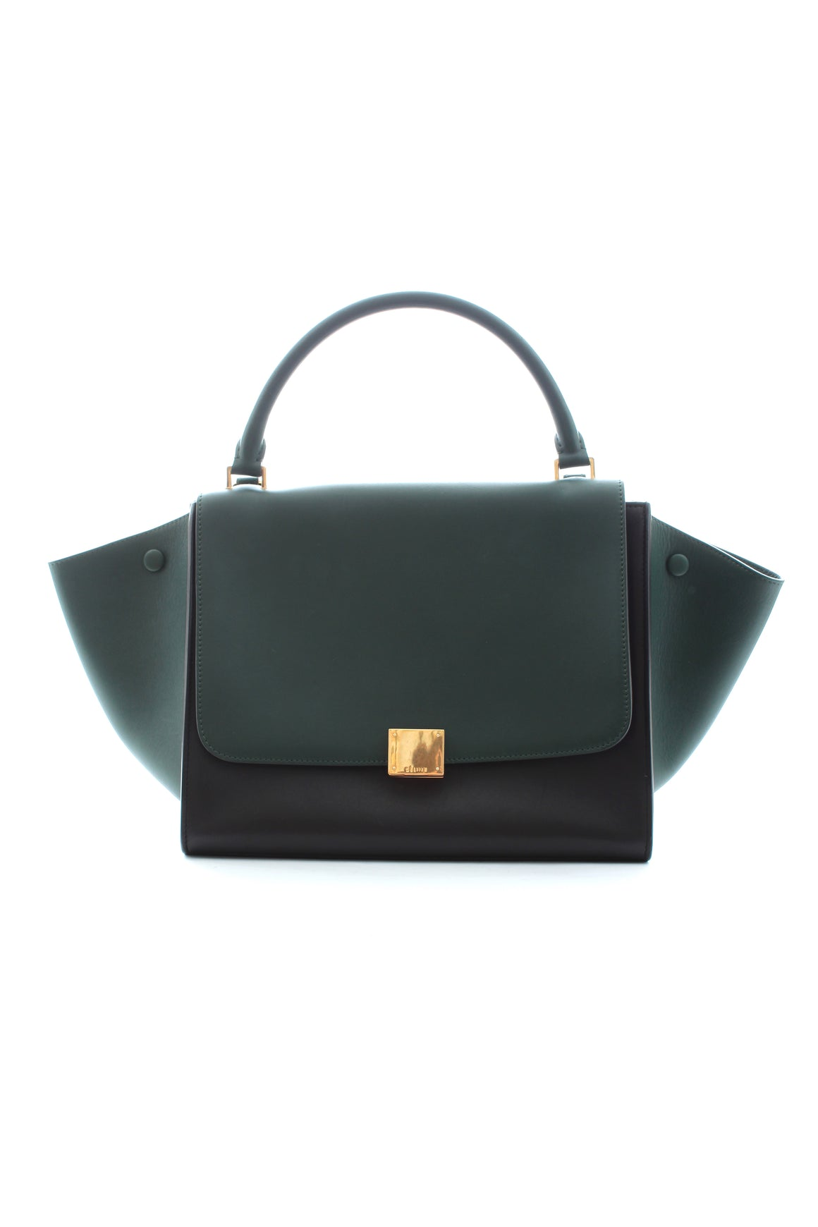 Céline Medium Trapeze Bag in Calfskin Leather