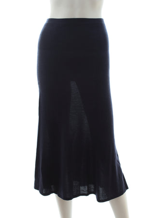 Victoria Beckham Cotton-Jersey Knit Skirt