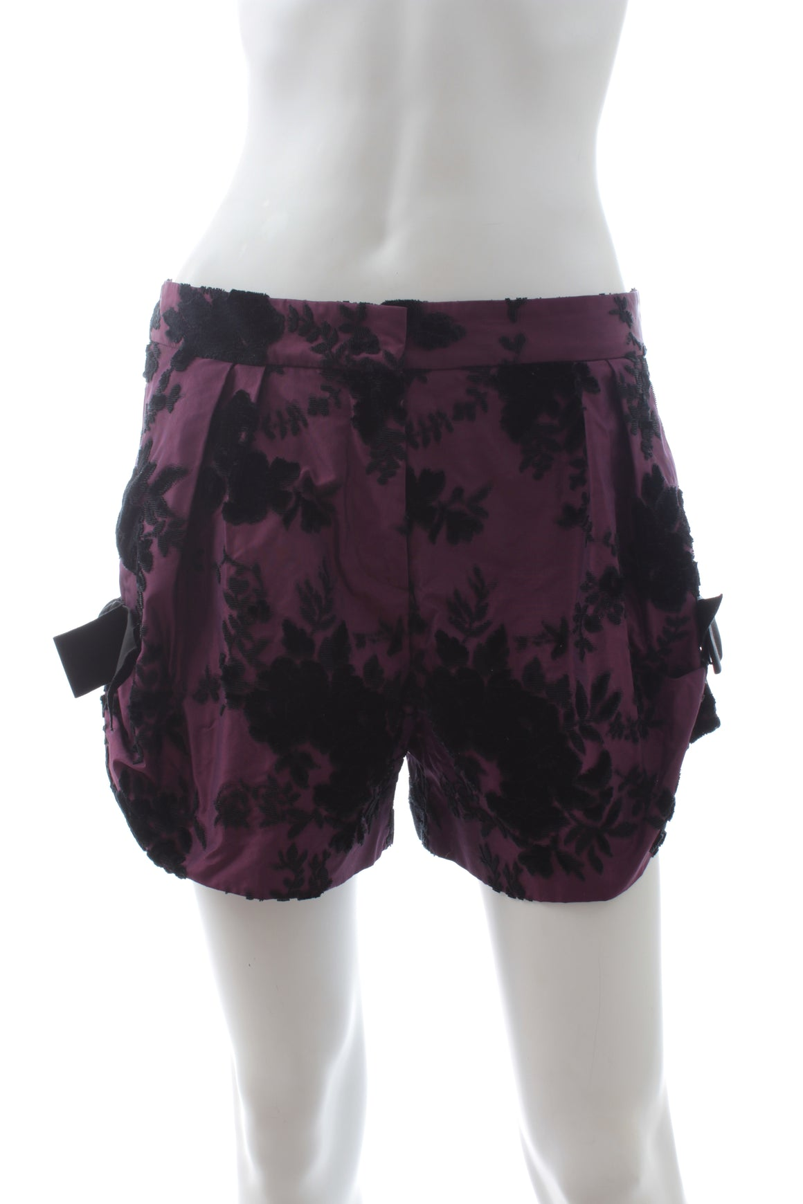 Christian Dior Silk Jacquard Shorts