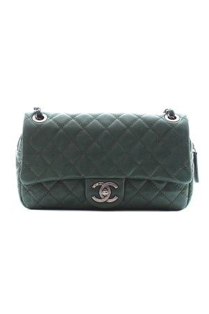 Chanel Easy Caviar Quilted Leather Flap Bag