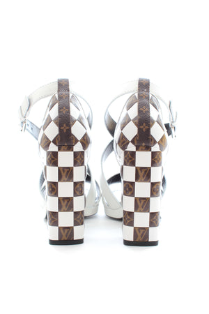 Louis Vuitton Matchmake Cross Sandals in Calf Leather - Current Season