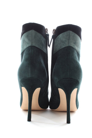 Manolo Blahnik Layevitch 105 Suede Ankle Boots
