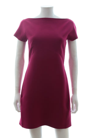 Victoria Beckham Wool and Silk-Blend Mini Dress