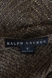 Ralph Lauren Black Label Bead-Embellished Knit Sweater