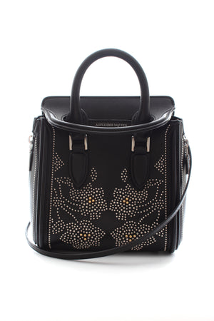 Alexander McQueen Flower Studded Mini Heroine Bag