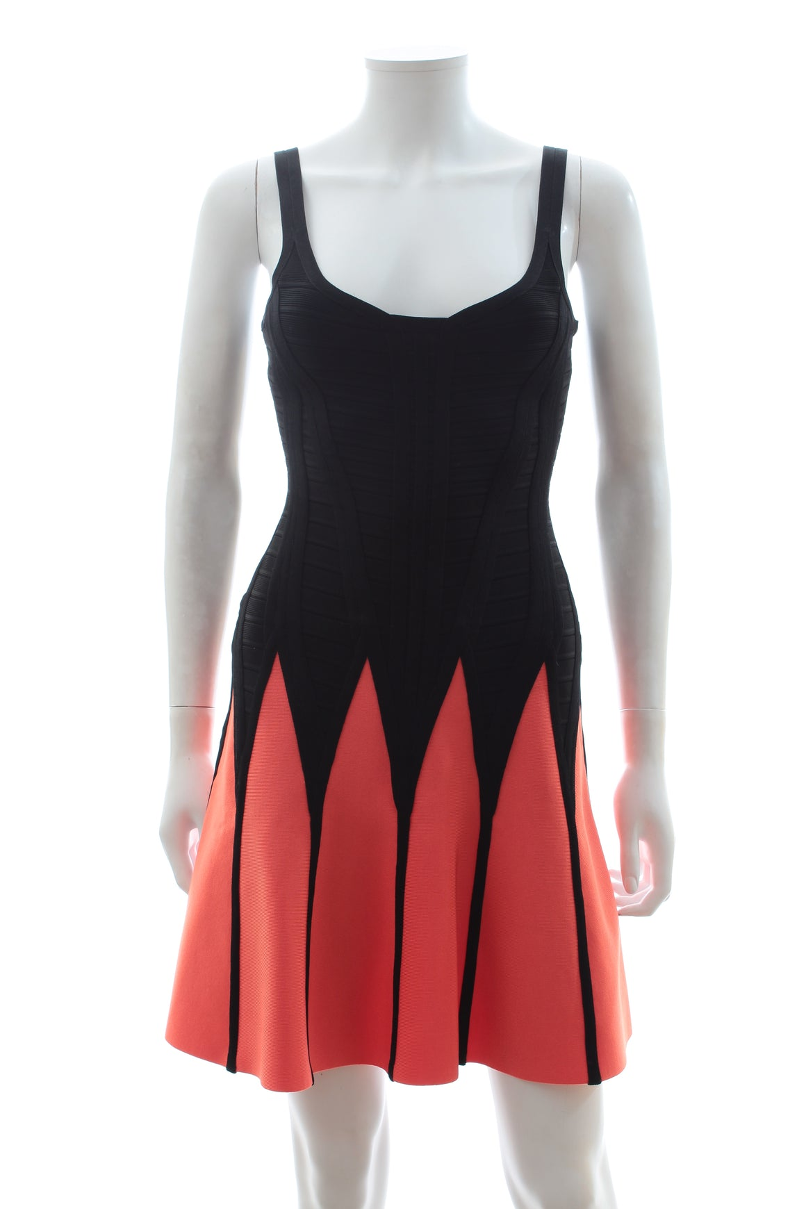 Herve Leger 'Mirte' Fit and Flare Dress