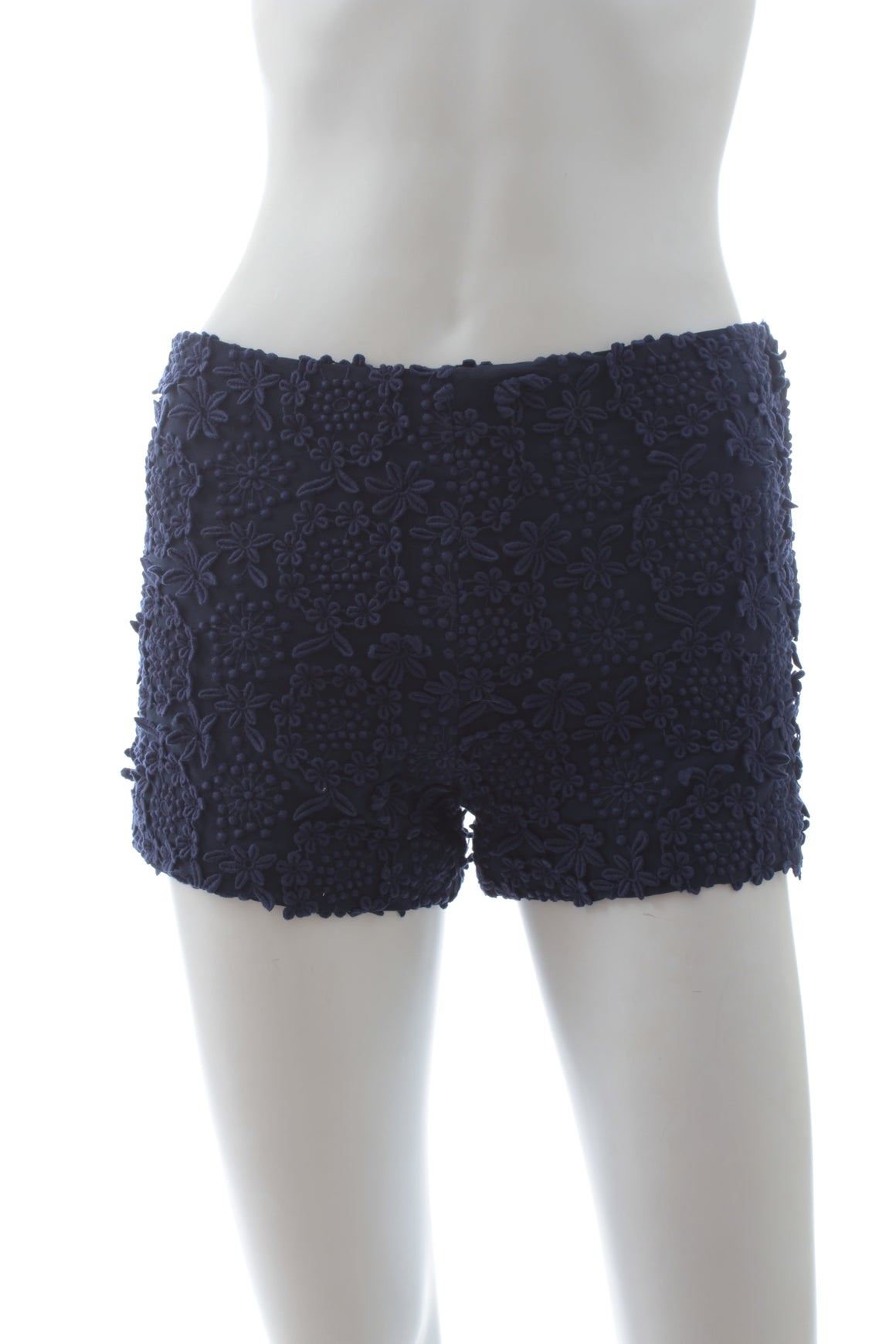 Prada Flower Embroidered Shorts