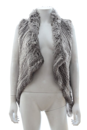 Yves Salomon Rabbit Fur Gilet