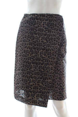 Ermanno Scervino Embellished Wrap Skirt