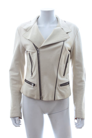 Tod's Leather Biker Jacket