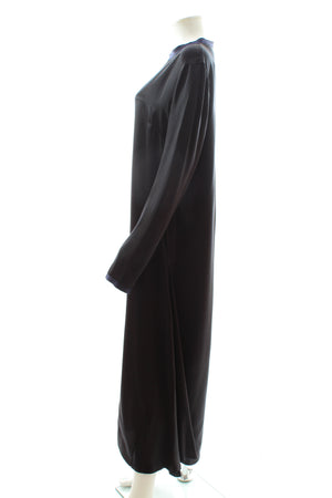 Albus Lumen Luvia Column Silk-Satin Dress