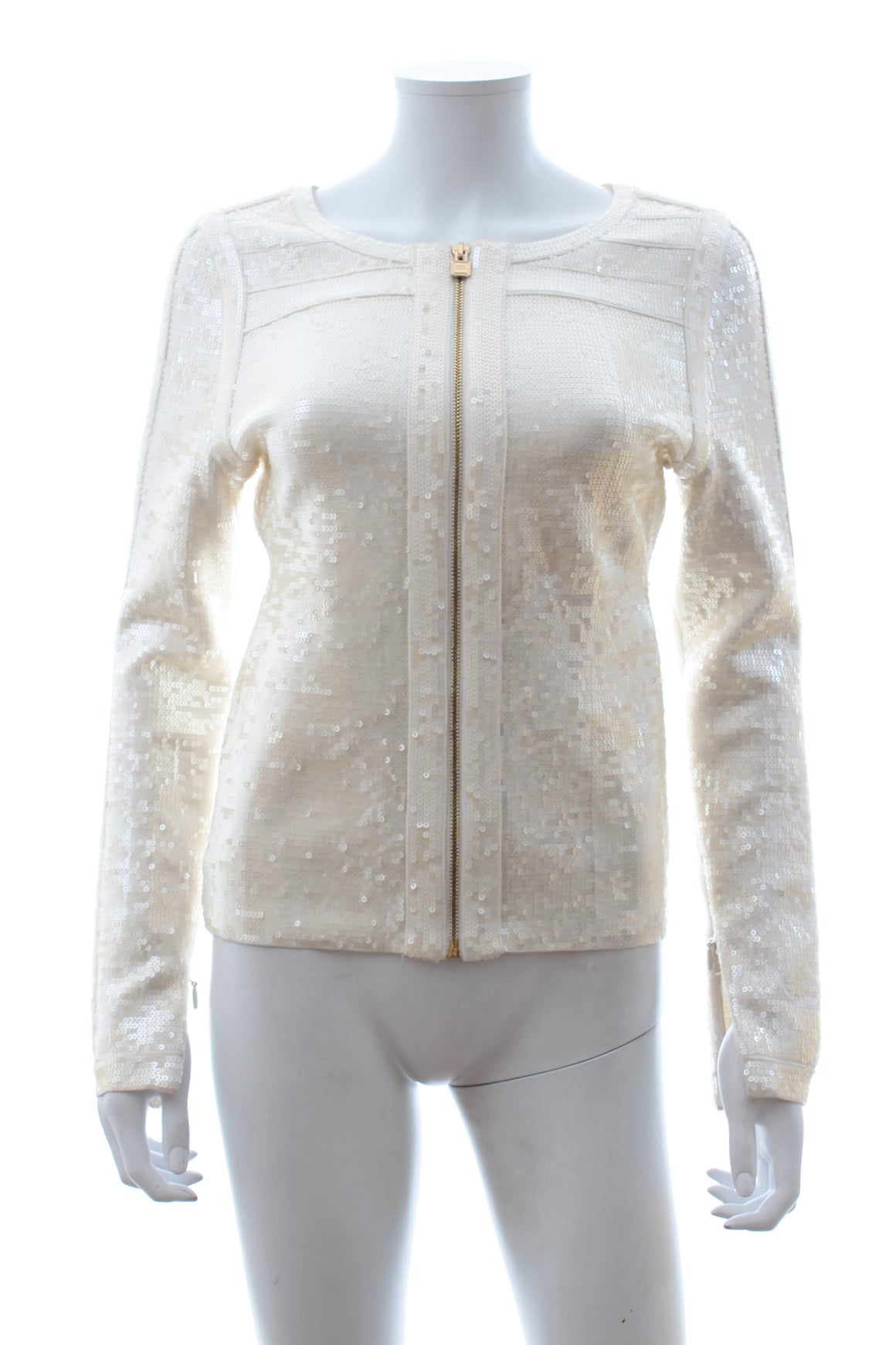 Herve Leger 'Daphne' Sequin Embellished Jacket