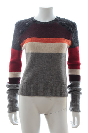 Isabel Marant Étoile 'Doyle' Striped Wool Sweater
