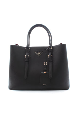 Prada Saffiano Leather Double Bag