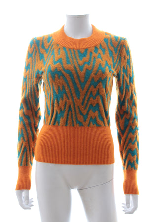 Missoni Swirl Mohair-Alpaca Blend Sweater