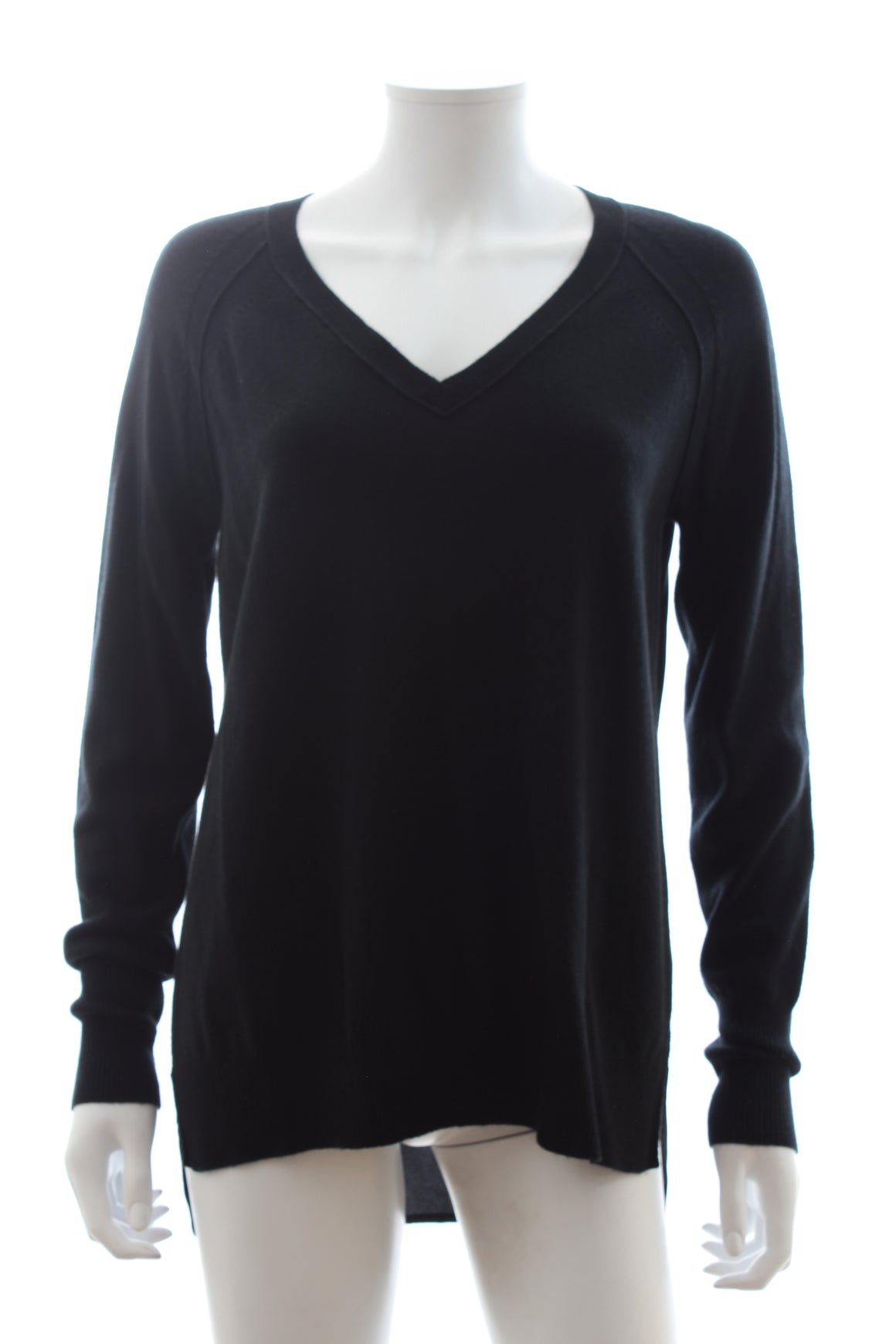 Vince Silk-Back Wool and Cashmere Sweater