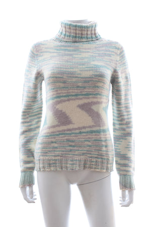 Missoni Space Dyed Roll-Neck Knitted Sweater