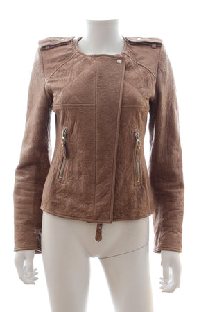 Isabel Marant Keni Leather Biker Jacket