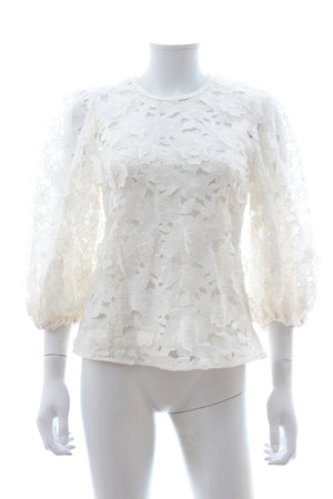 Zimmermann Super Eight Lift Off Blouse