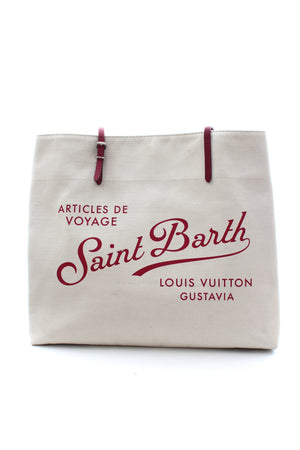 Louis Vuitton Articles De Voyage Saint Barth Canvas Tote Bag