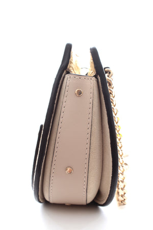 Chloé Mini Pixie Metallic Leather and Suede Belt Bag