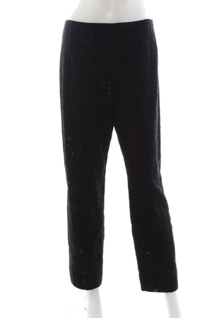 Prada Lace Tapered Trousers