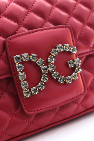 Dolce & Gabbana Millennial Quilted Leather Shoulder Bag