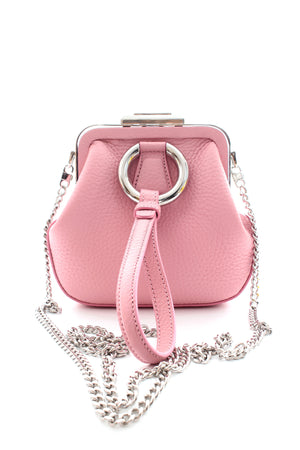 Ermanno Scervino Wristlet Bag with Chain Strap