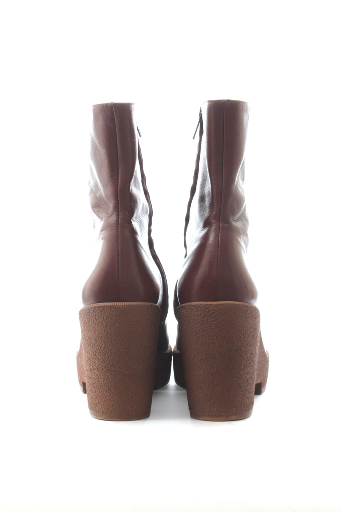 Robert Clergerie Platform Leather Boots