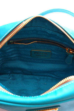 Prada Saffiano Lux Leather Camera Crossbody Bag
