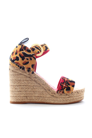 Louis Vuitton Jungle Wedge Sandals