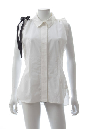 Louis Vuitton Sleeveless Cotton Shirt, Tops & Shirts, Louis Vuitton, Closet Upgrade - Closet-Upgrade