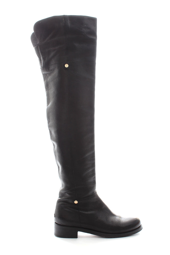 Jimmy Choo 'Deron' Polished Leather Over-the-knee Boots