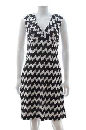 Missoni Sleeveless Swirl Knit Dress