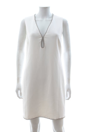 Alexander Wang Studded Keyhole Shift Dress