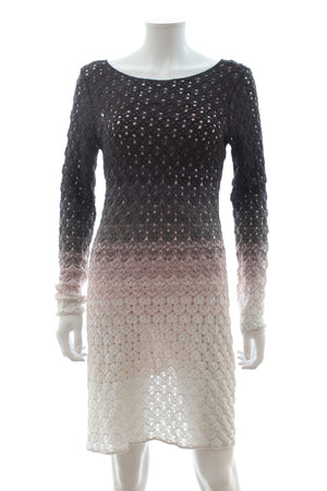 Missoni Ombre Crochet Knit Dress