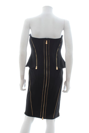 Herve Leger 'Xandra' Zipper-Detailed Dress