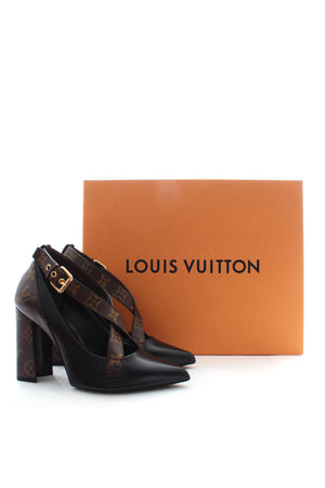 Louis Vuitton Matchmake Cross Pumps