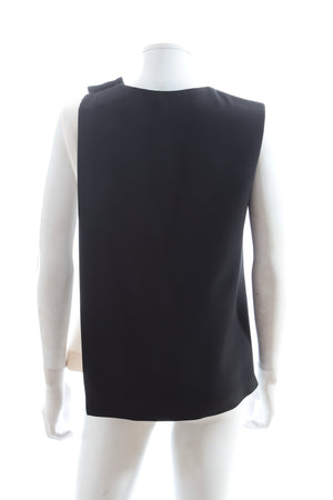 Fendi Two-Tone Silk-Blend Top