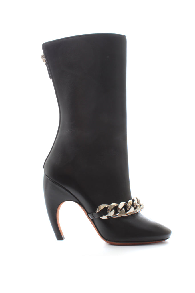 Givenchy Chain Leather Boots
