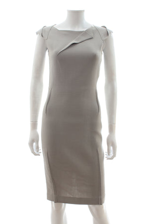 Roland Mouret 'O'Hara' Wool-Crepe Dress