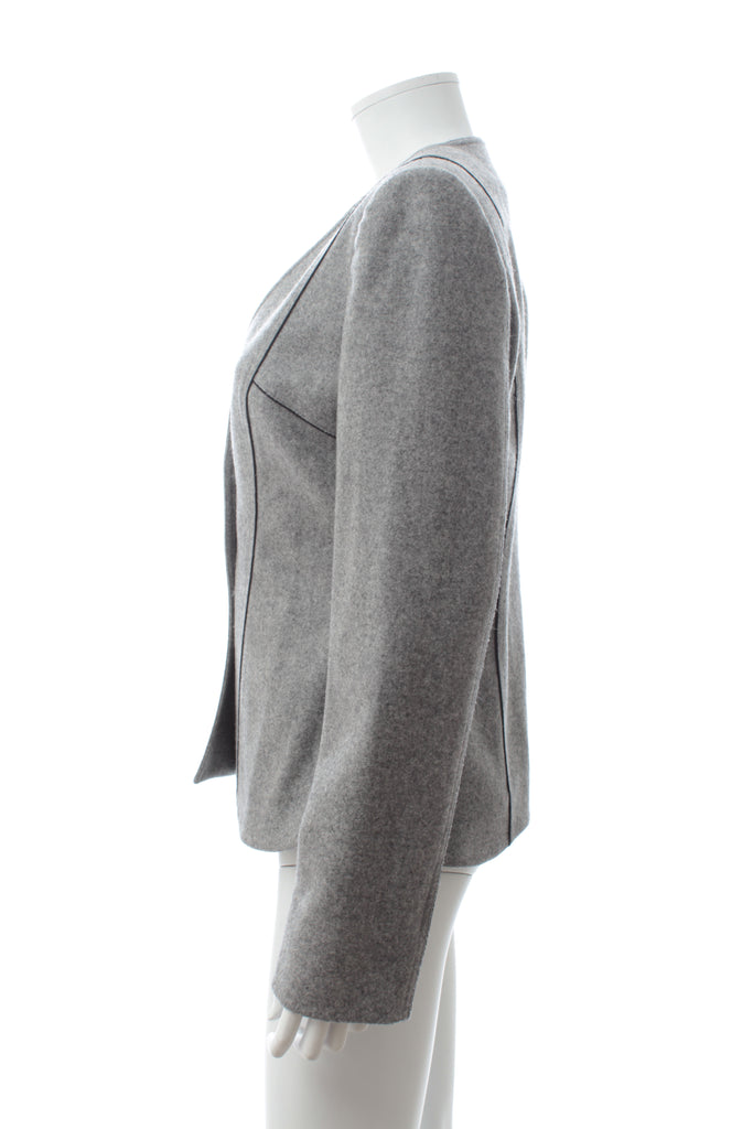 Fendi Wool-Felt Panelled Blazer
