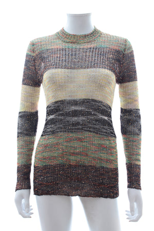 Missoni Sequin Embellished Striped Sweater
