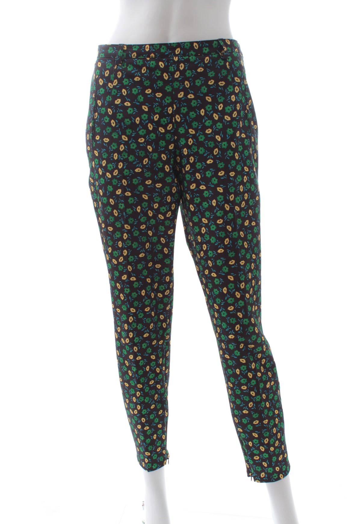 Prada Tech Printed Tapered Trousers
