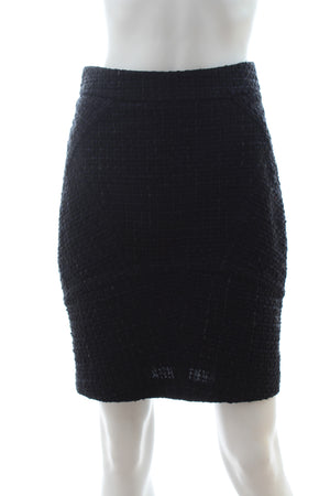 T by Alexander Wang Tweed Knit Skirt