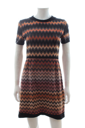 Missoni Short Sleeved Knit Dress