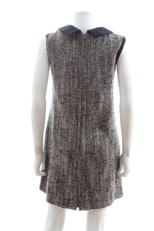 Dolce & Gabbana Boucle Knit Sleeveless Dress