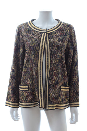 Missoni Metallic Knit Cardigan