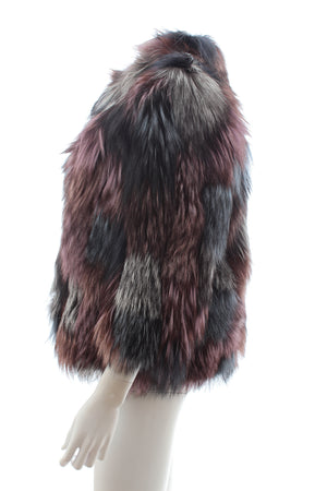 J. Mendel Multi Fox Fur Short Coat